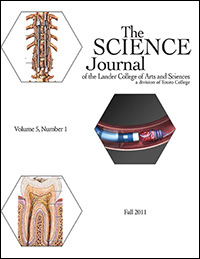 The Science Journal - Volume V - Number 1 - Fall 2011