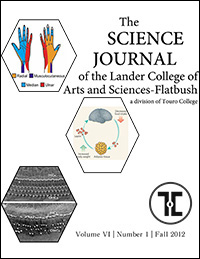 The Science Journal - Volume VI - Number 1 - Fall 2012