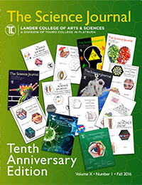The Science Journal - Volume X - Number 1 - Fall 2016