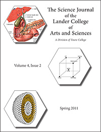 The Science Journal - Volume 4, Issue 2 - Spring 2011