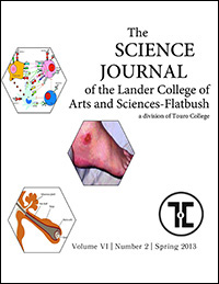 The Science Journal - Volume VI - Number 2 -Spring 2013